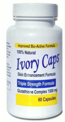 Ivory Caps - skin whitening pills