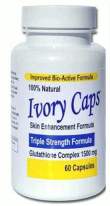 Ivory Caps - skin whitening pills