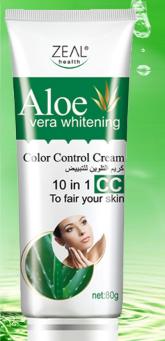 aloe vera skin whitening cream