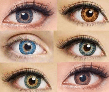 best colored contacts for green eyes