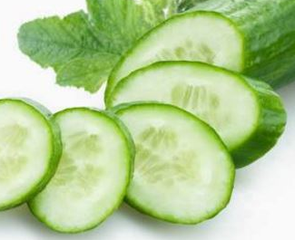 cucumber help in removal of pimple scars