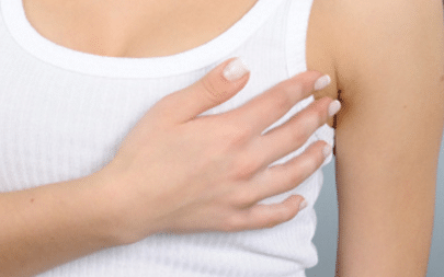 sharp pain in breast