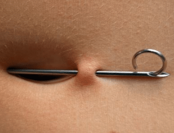 Belly button piercing pain level