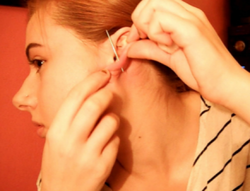 How to Pierce your Ear, Cartilage, Painlessly, without Hurting, at Home, with a Sewing Needle, Earing, a Gun, Safety Pin