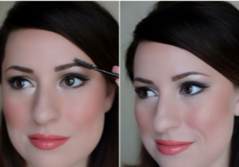 How to make eyebrows darker