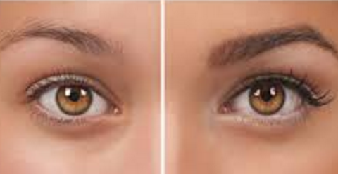 Eyebrow tinting procedure