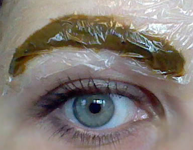 Natural eye tinting procedure