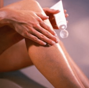 How to remove crepey skin on legs
